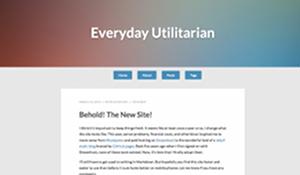 Everyday Utilitarian